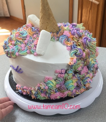 Unicorn Cake Pinterest Fail