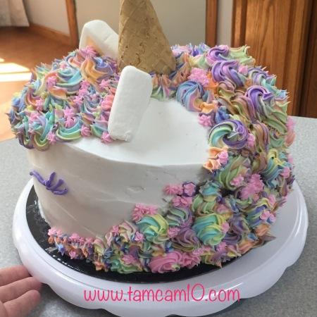 Unicorn Cake Pinterest Fail