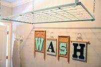Laundry Room Drying Rack 2