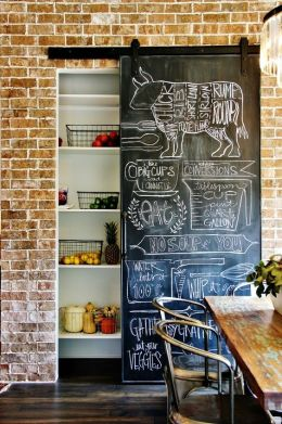 Pantry Chalk Board 2