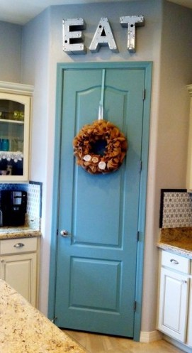 Pantry Painted Blue 2