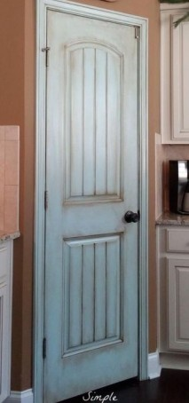 Pantry Painted Blue