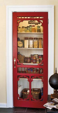 Pantry Screen Door 2