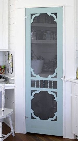 Pantry Screen Door