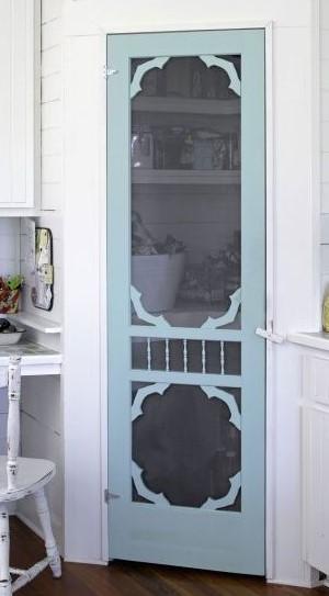 Pantry Screen Door