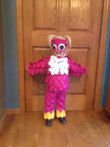 tamcam10.com | Halloween Costume | DIY | Owl | Hot Glue
