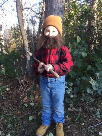 tamcam10.com | Halloween | DIY | Lumberjack |