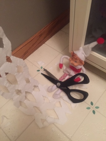 Elf on the Shelf Snow Flake Toilet Paper tamcam10 1