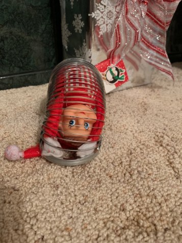 Elf on the Shelf tamcam10 Slinky