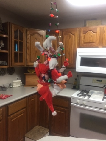 Elf on the Shelf Jingle Light Tangle tamcam10