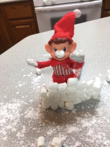 Elf on the Shelf Snowball Fight tamcam10 11
