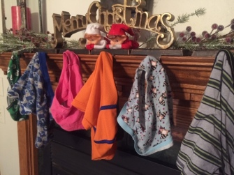 Elf on the Shelf Underwear Hung Fireplace tamcam10 2