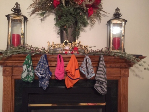 Elf on the Shelf Underwear Hung Fireplace tamcam10 3