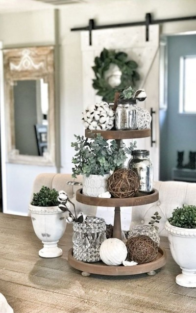 Tiered Tray Decor Ideas Farmhouse