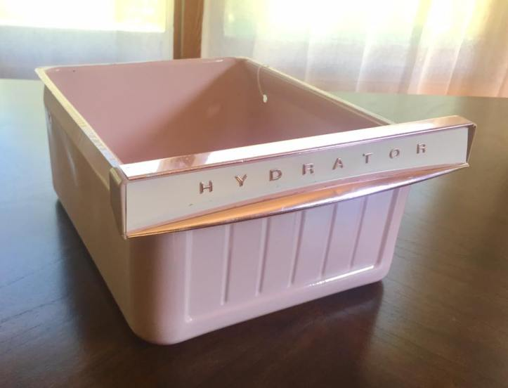 Hyrdator Drawer Pink Fridge Retro