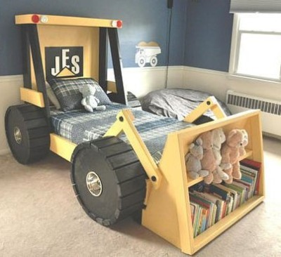 boys bedroom decor ideas bull dozer bed tamcam10
