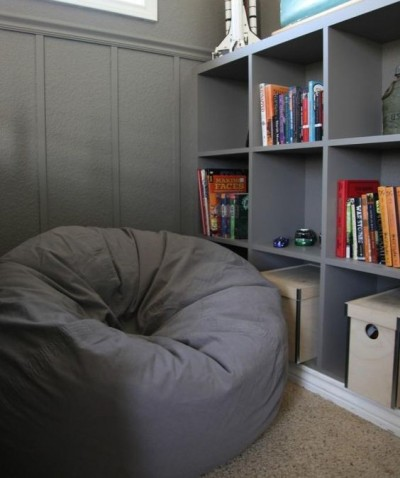 boys room sitting reading nook idea bean bag chair tamcam10