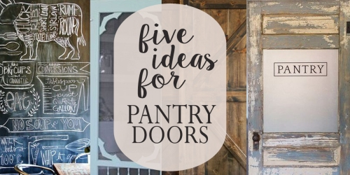 five ideas for pantry doors fi
