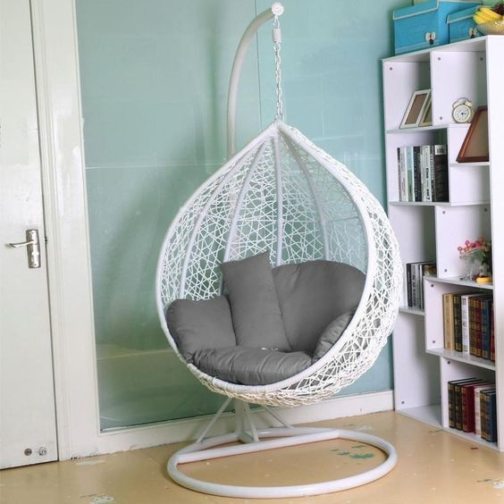 girls bedroom decor ideas hanging chairs swings tamcam10 4