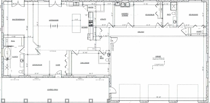 one level house plan goals tamcam10