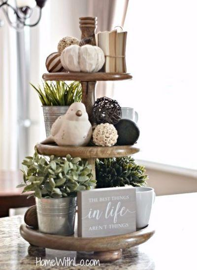 tiered tray decor ideas