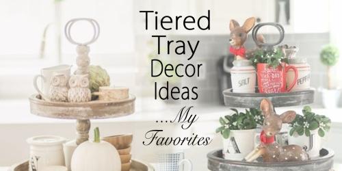 tiered tray decor ideas my favorites fi