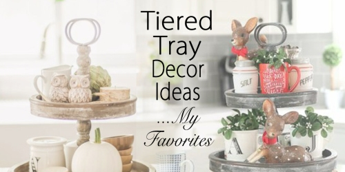 tiered tray decor ideas my favorites fi