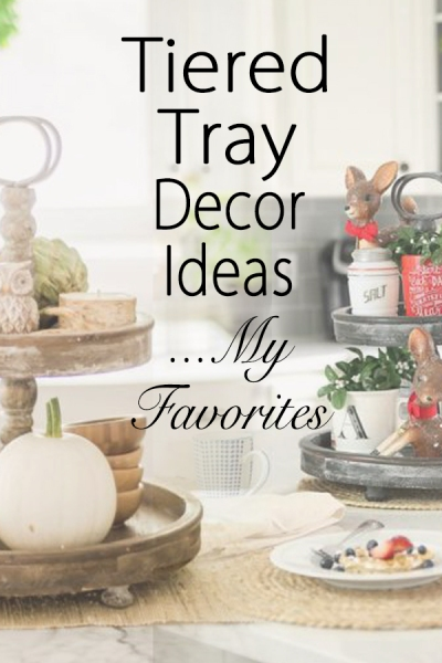 tiered tray decor ideas my favorites