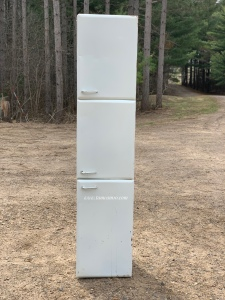 Tall White Cabinet Metal tamcam10