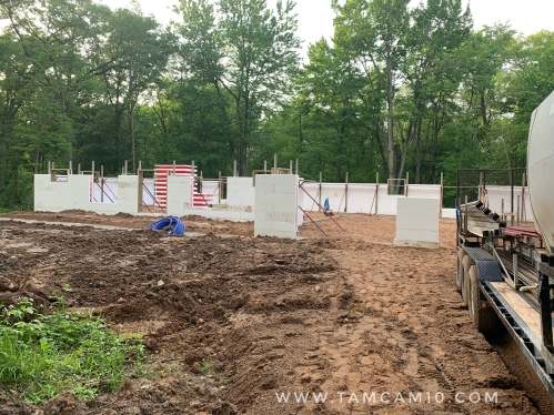 building a house, ICF, Insulated Concrete Forms, tamcam10 2