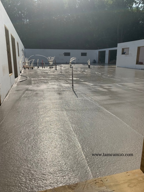 Poured Concrete Concrete Floors