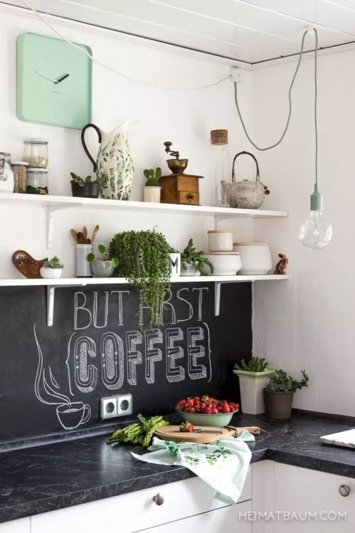 Kitchen Backsplash Ideas Chalkboard Paint
