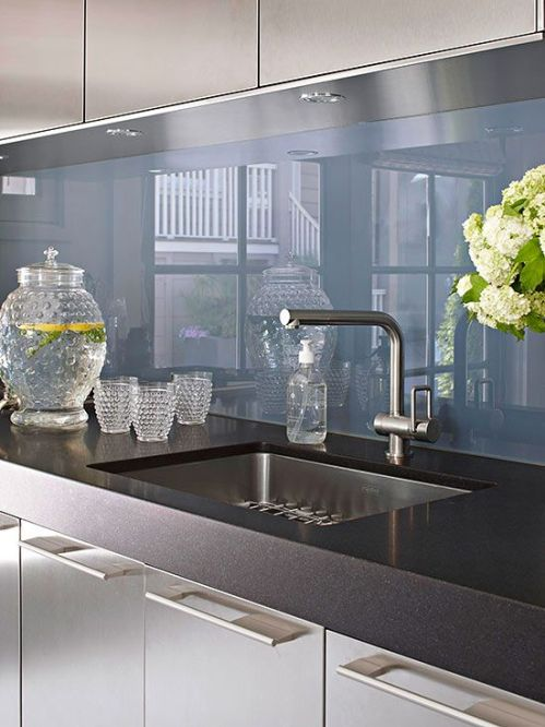 Kitchen Backsplash Ideas Glass