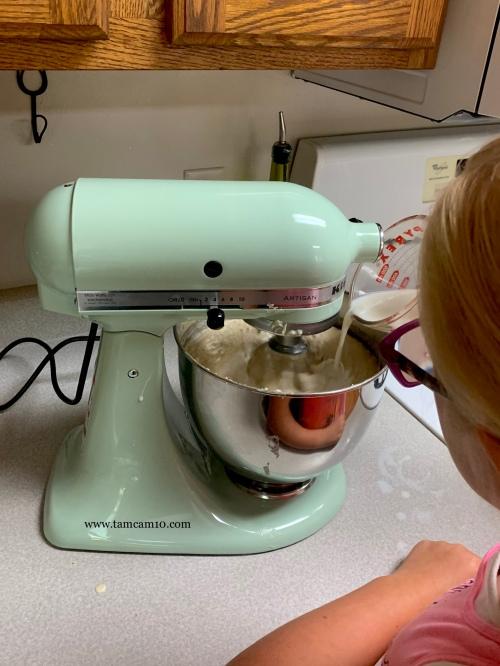 Kitchen Aid Mixer Green tamcam10