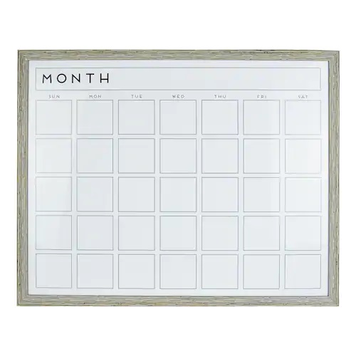 Dry Erase Board Wall Calendar