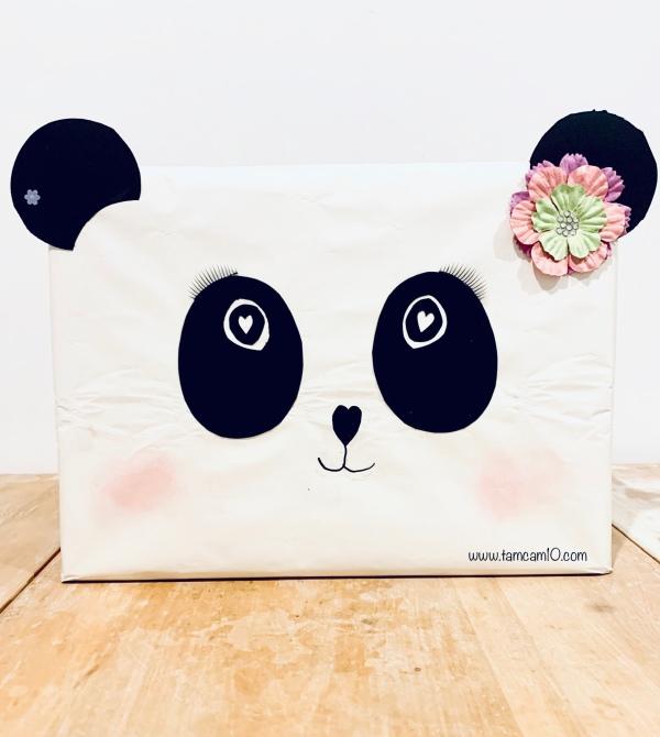 Easy Panda Valentine's Box tamcam10