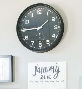 family command center clock the smalls things blog