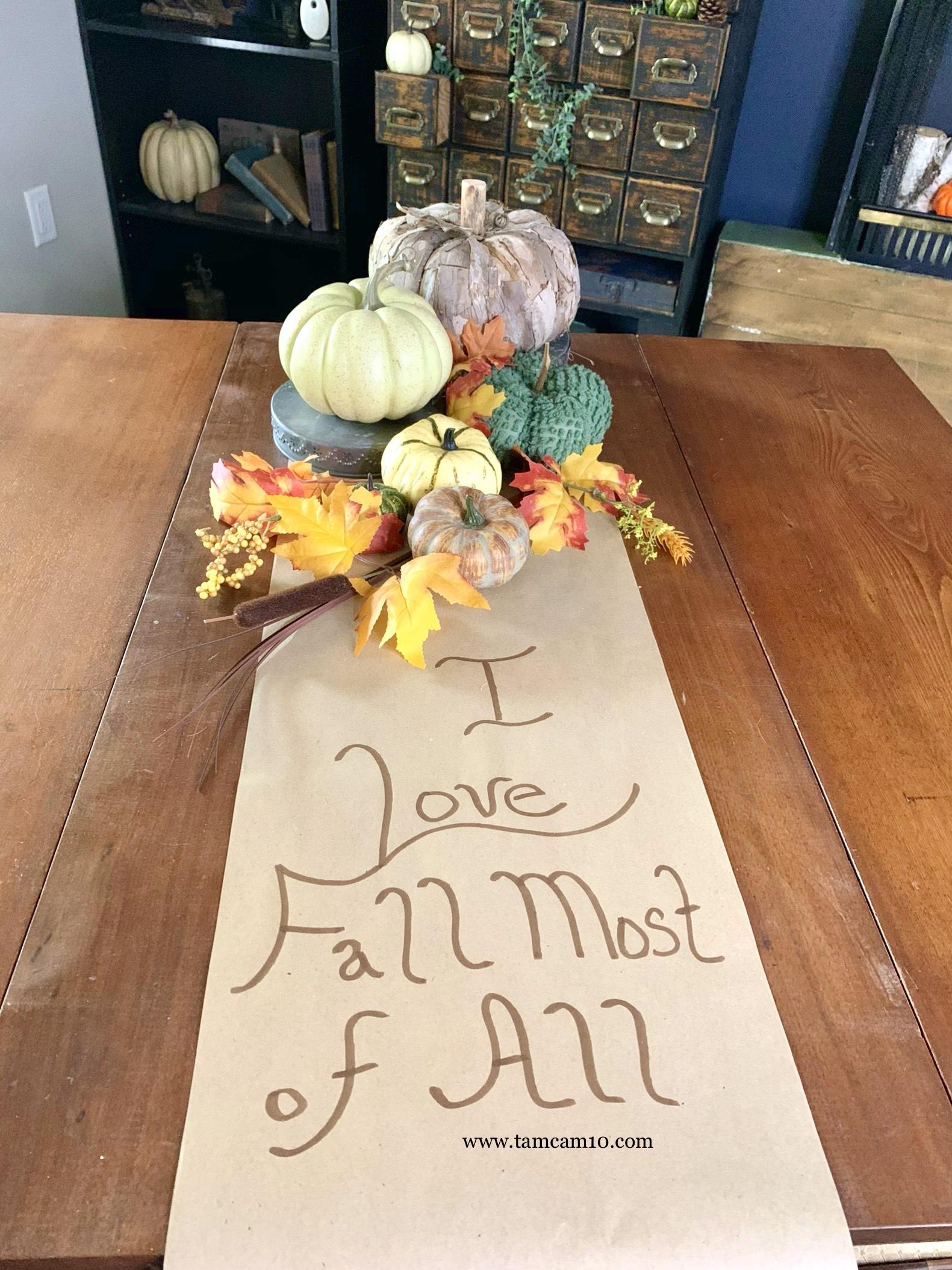 Fall Decor | Pumpkins | Textures | Fall Colors | Dining Room | tamcam10 |